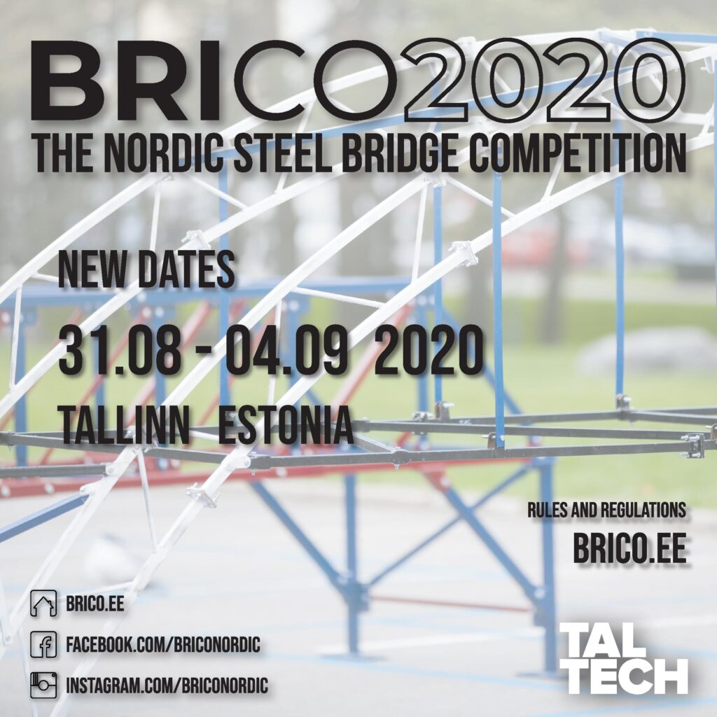 BRICO poster with new 2020 date